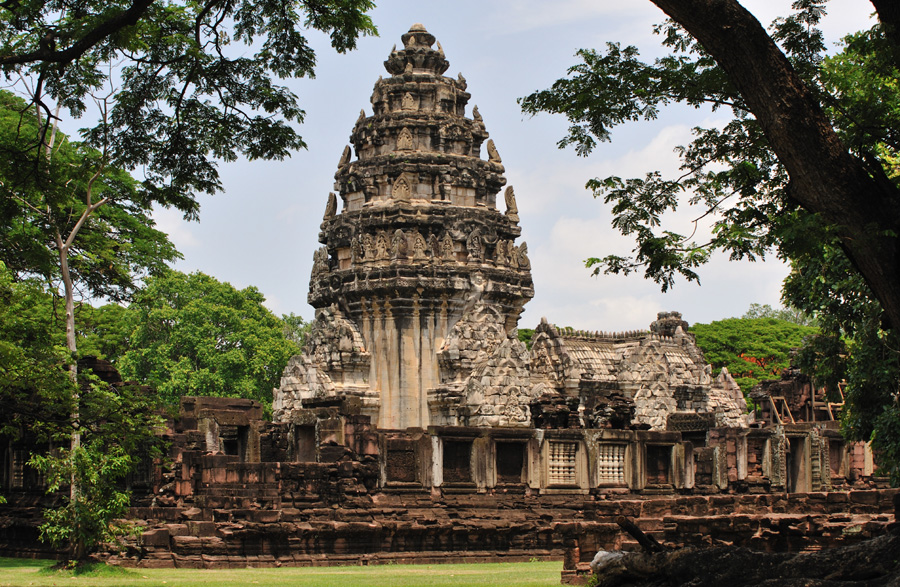 Khmer-Tempel in Phimai
