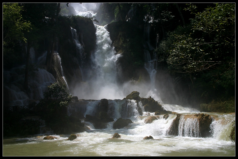 Khouang Si Wasserfall, Luang Prabang, Laos