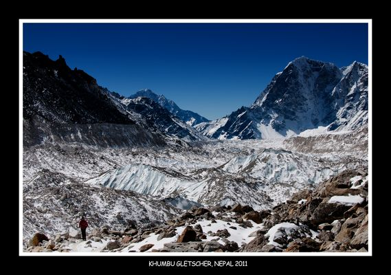 Khumbu Gletscher Nepal 2011