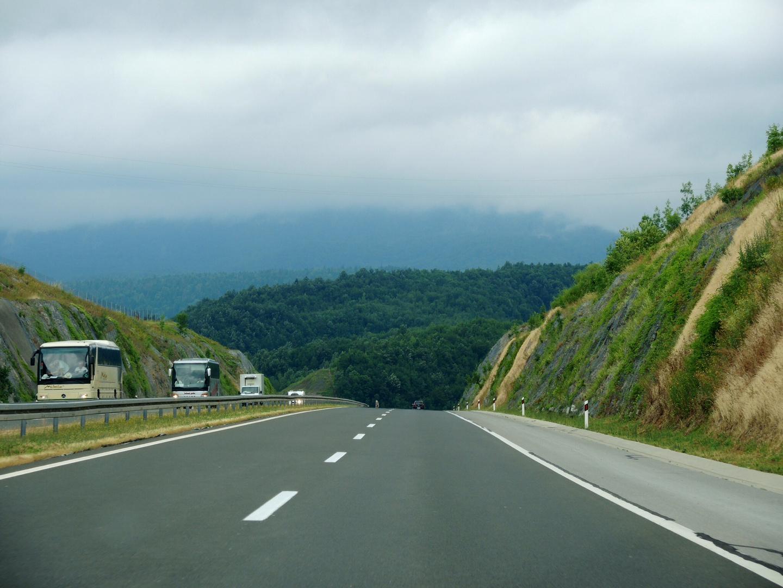 Kick auf die A1 in Kroatien