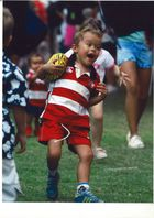 Kid Enjoy Rugby