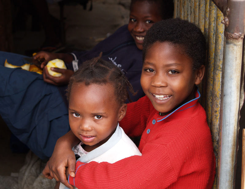 Kids in Inhambane, Mozambique