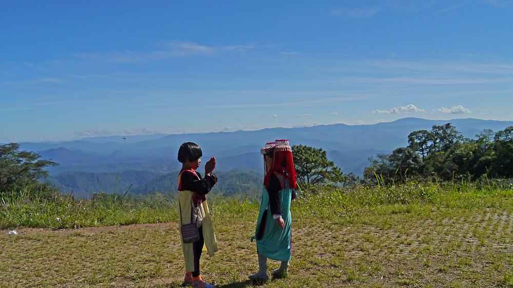Kids in Nordthailand