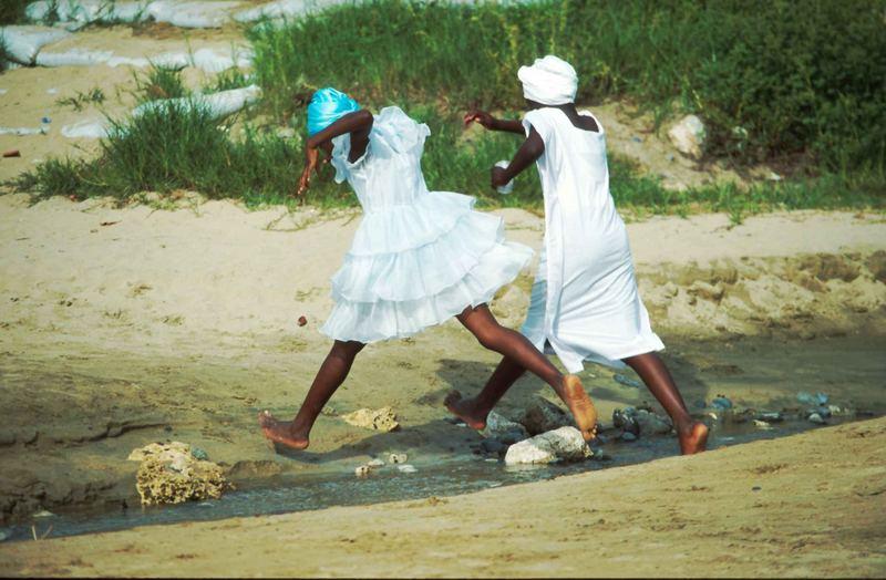 Kids in Tobago