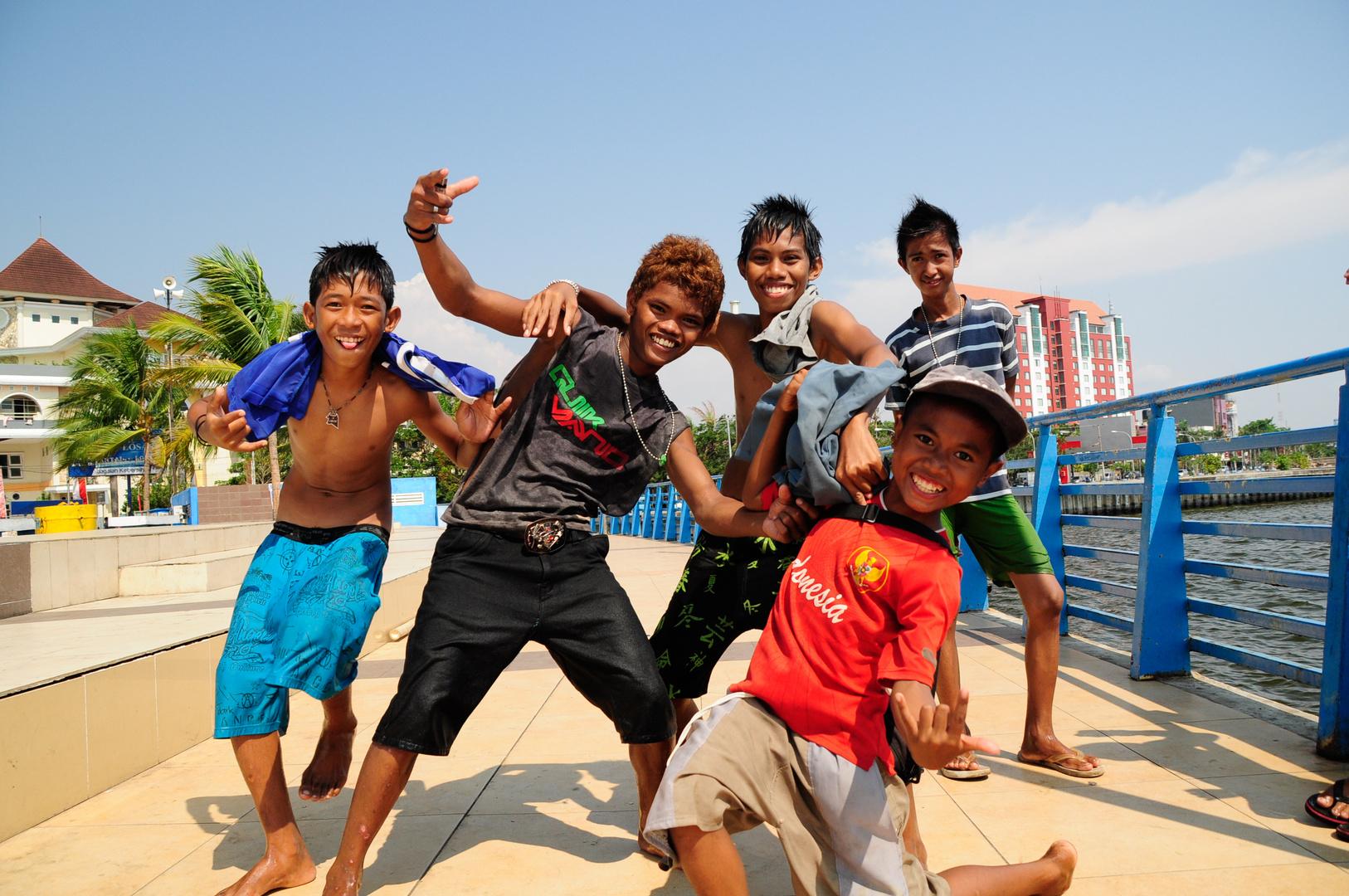 Kids of Losari Beach