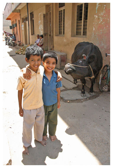kids with holy cow