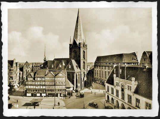 Kiel: Alter Markt um 1938
