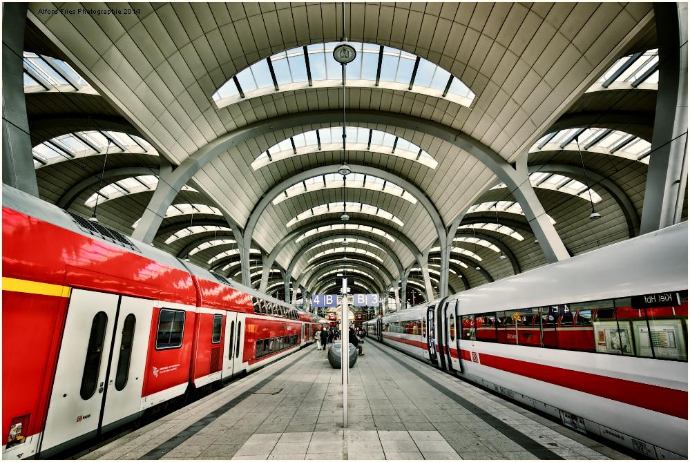 KIEL Hauptbahnhof! Der Zug endet hier!