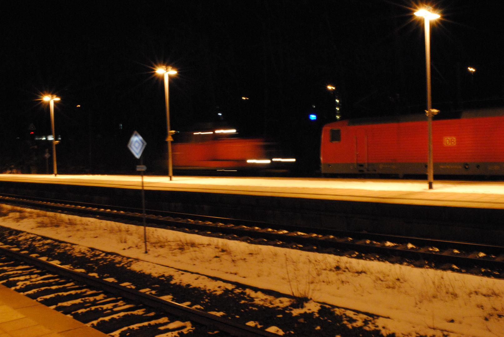 Kiel in deer Nacht