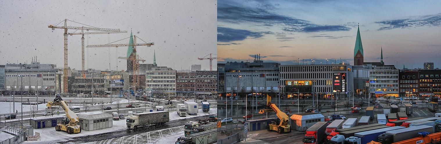 Kiel Innenstadt....