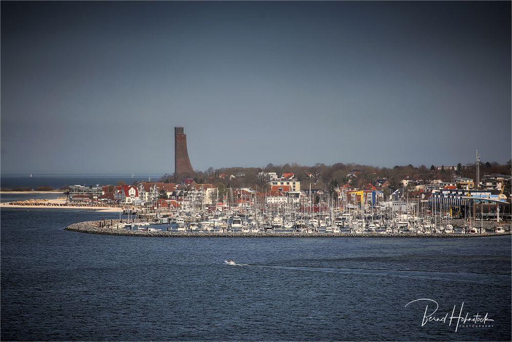 Kiel - Oslo mit Colorline .... Laboe
