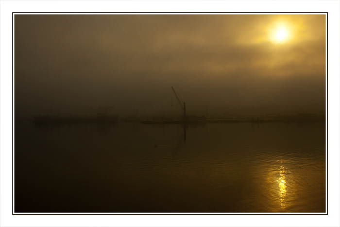 Kiel - Sonnenaufgang