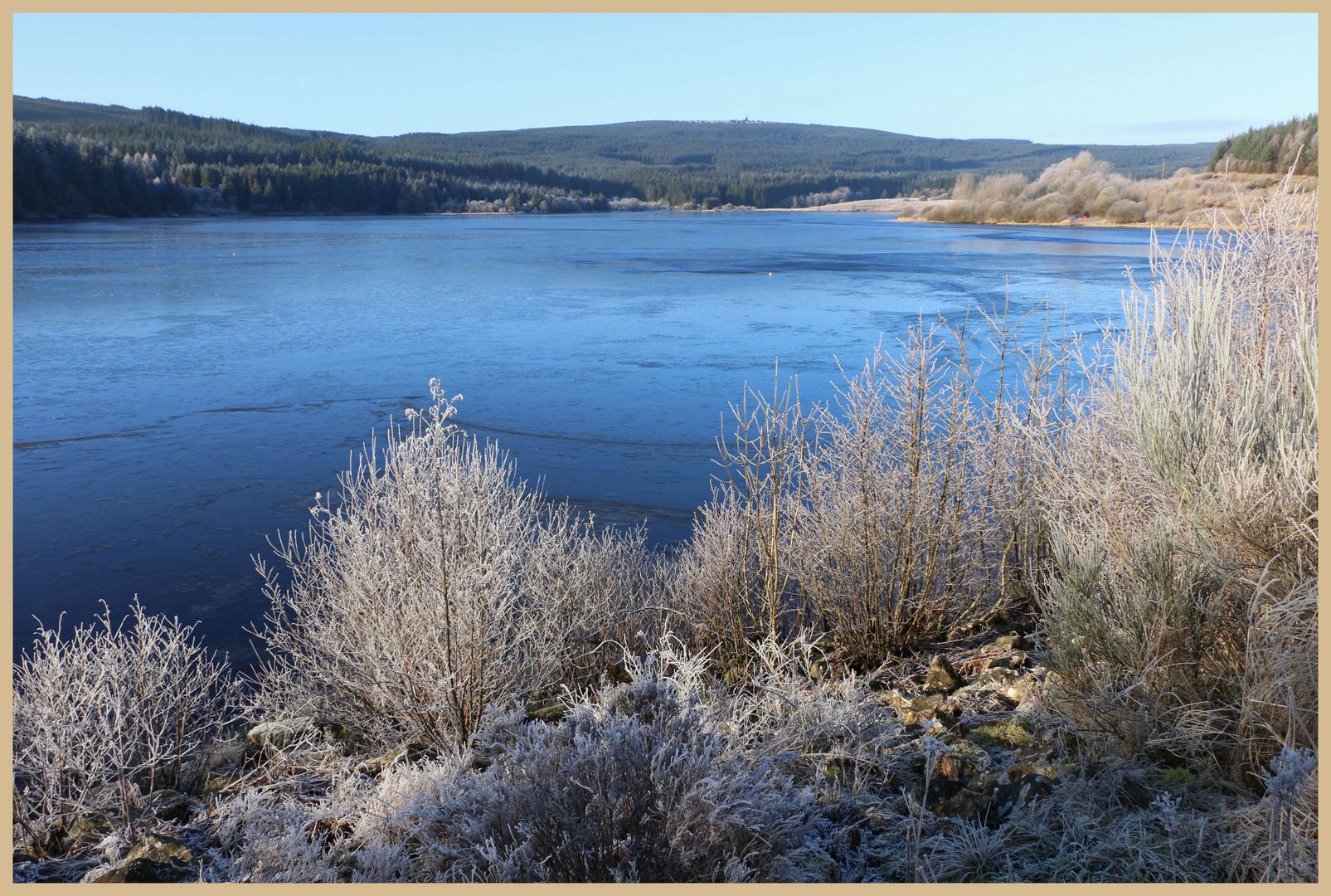 Kielder Water in winter 2