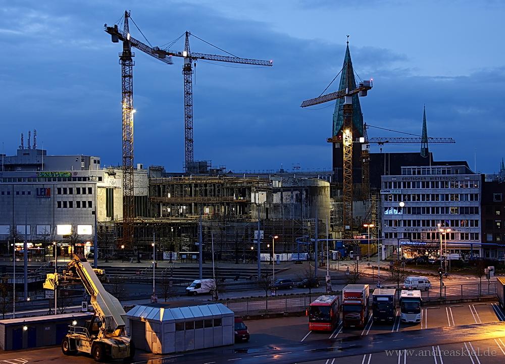 Kieler Großbaustelle