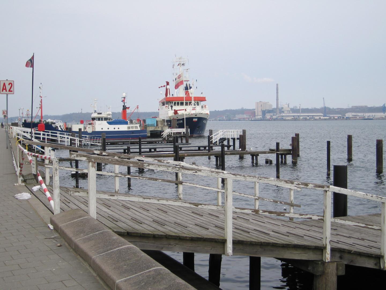 Kieler Hafen kleiner Teil