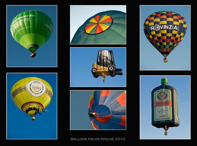 Kieler Woche 2010 - Ballons