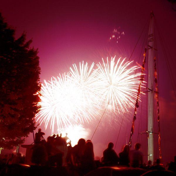 Kieler Woche Feuerwerk