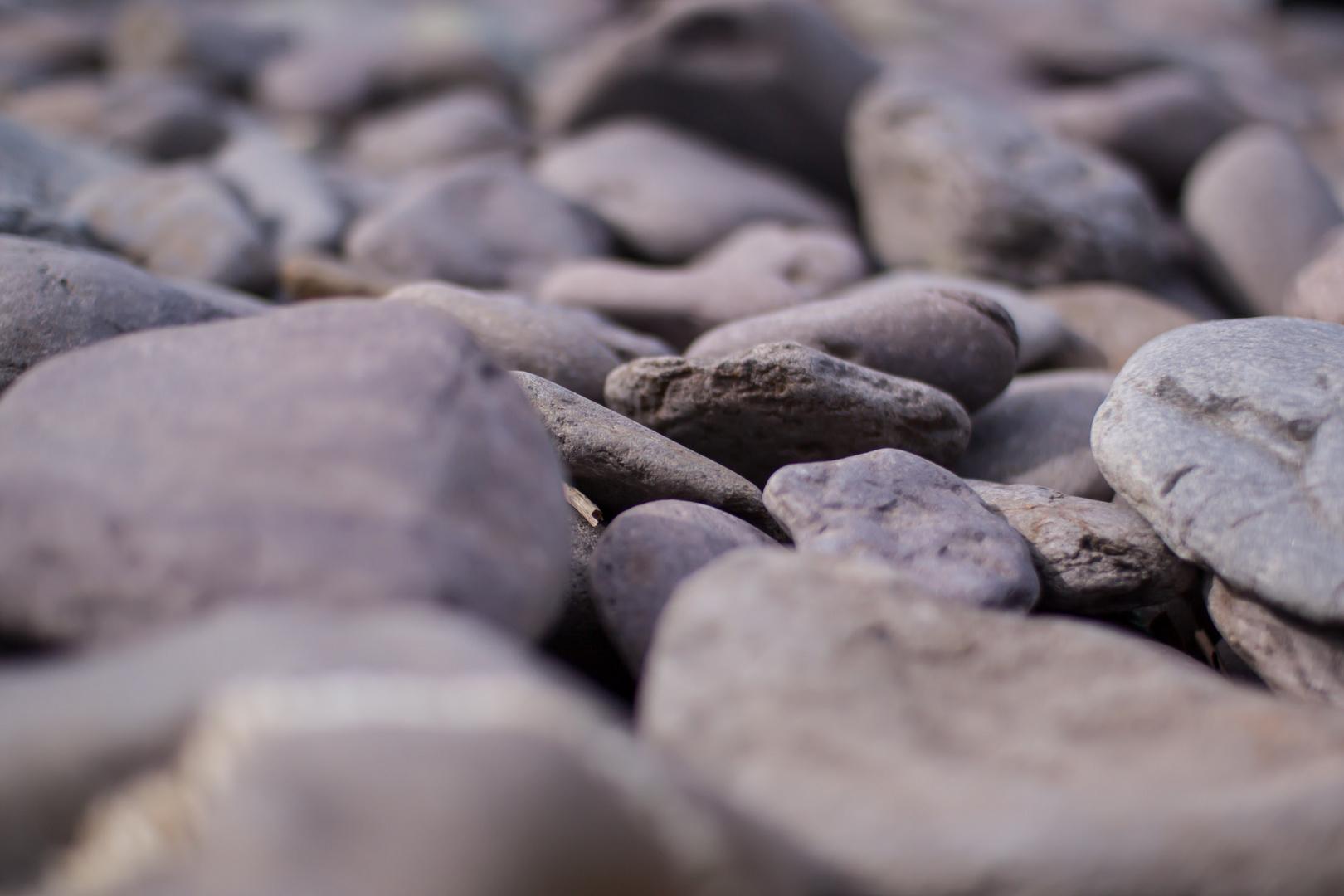 Kiesel am Strand von Waterville, Co. Kerry, Ireland