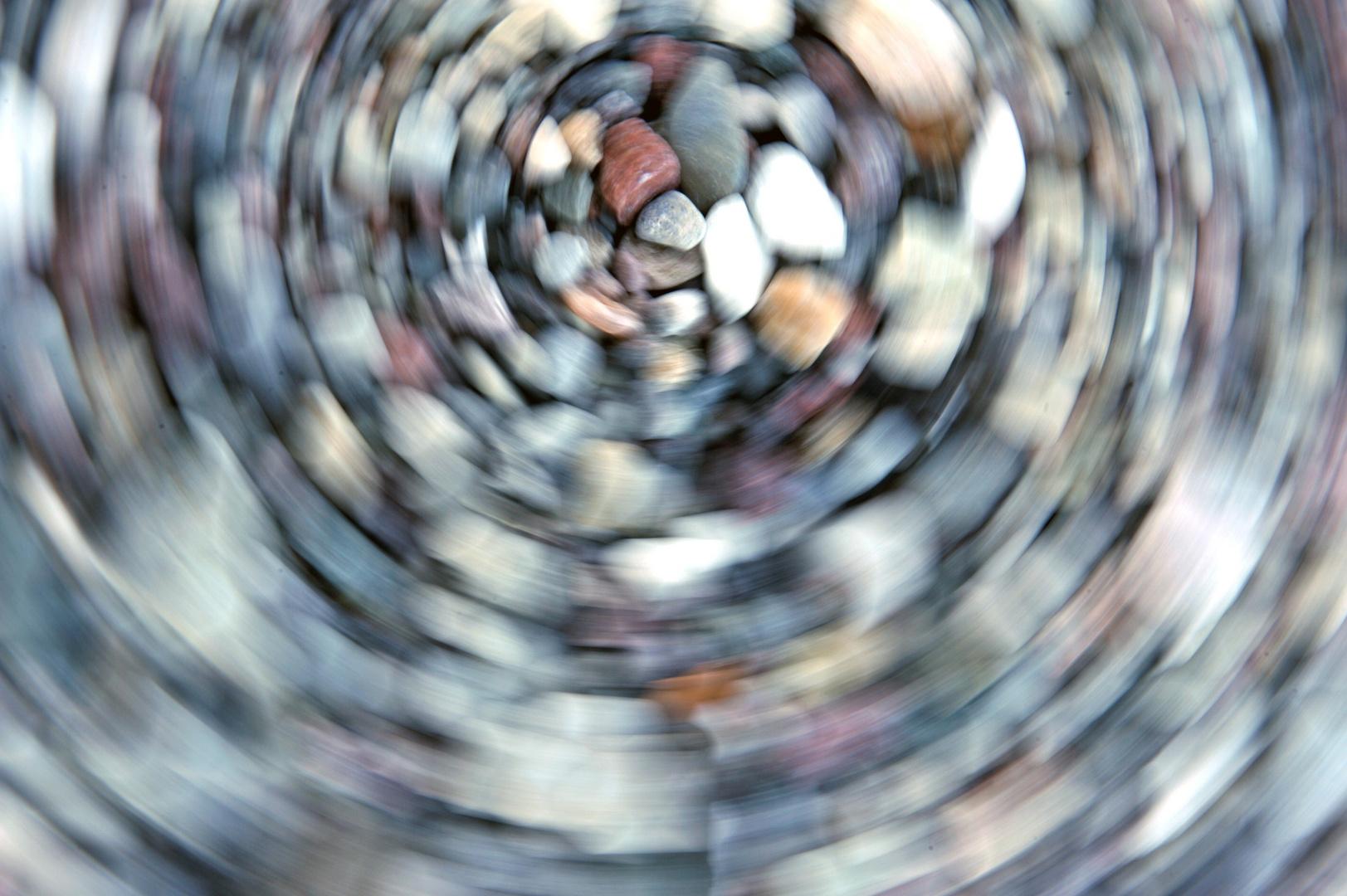 Kieselsteine auf Hiddensee