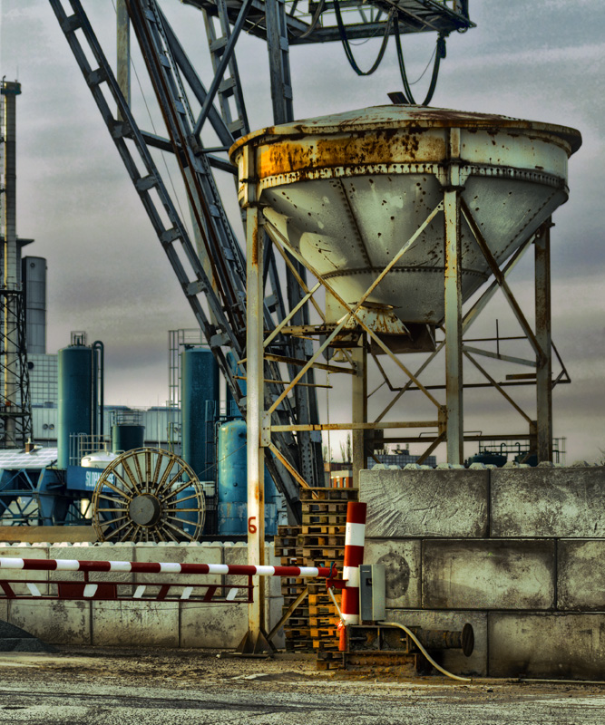 Kieswerk, Hemelinger Hafen 1