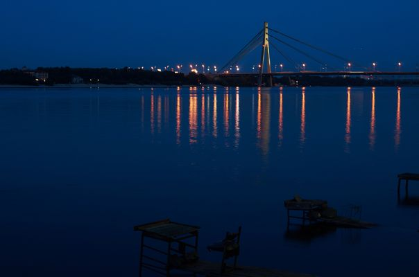 Kiew - Dnjepr-Brücke