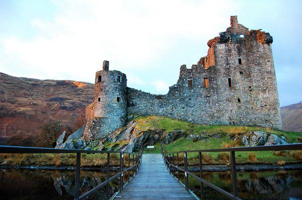 Kilchurn Castle,Loch Awe,Scotland
