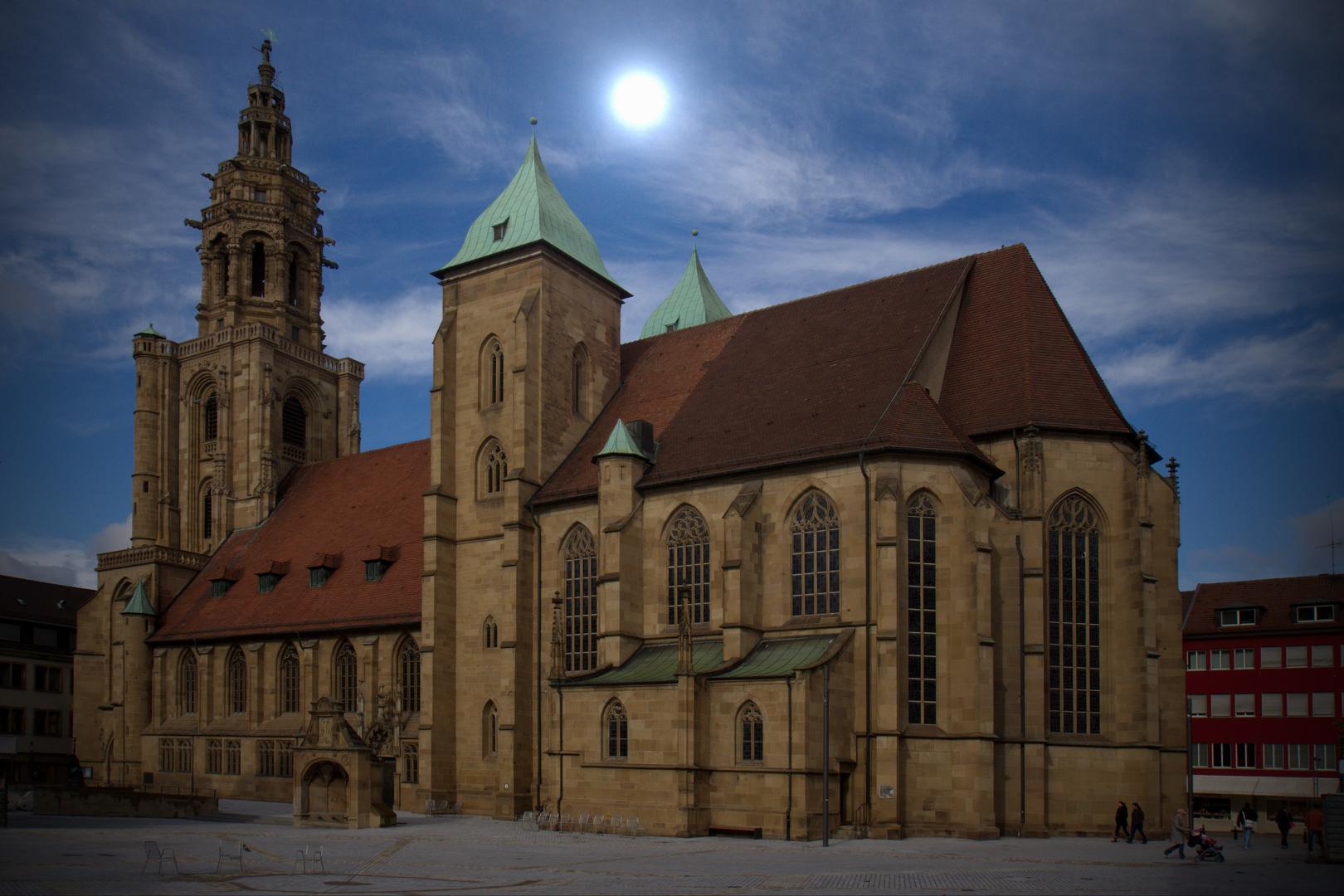 Kilianskirche Heilbronn im Herbstlicht