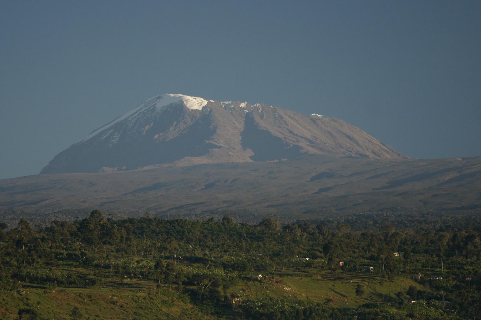 Kilimanjaro am Morgen