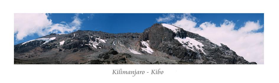 Kilimanjaro-Kibo Panorama
