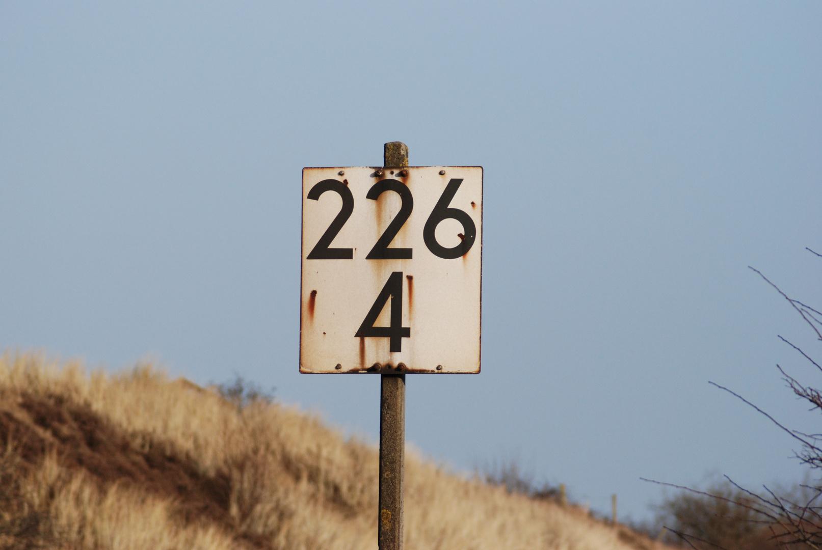 Kilometer 226 / 4