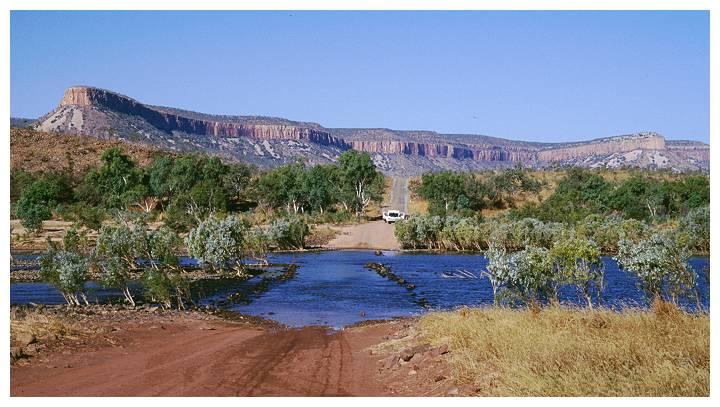 Kimberleys: Pentecost River Crossing