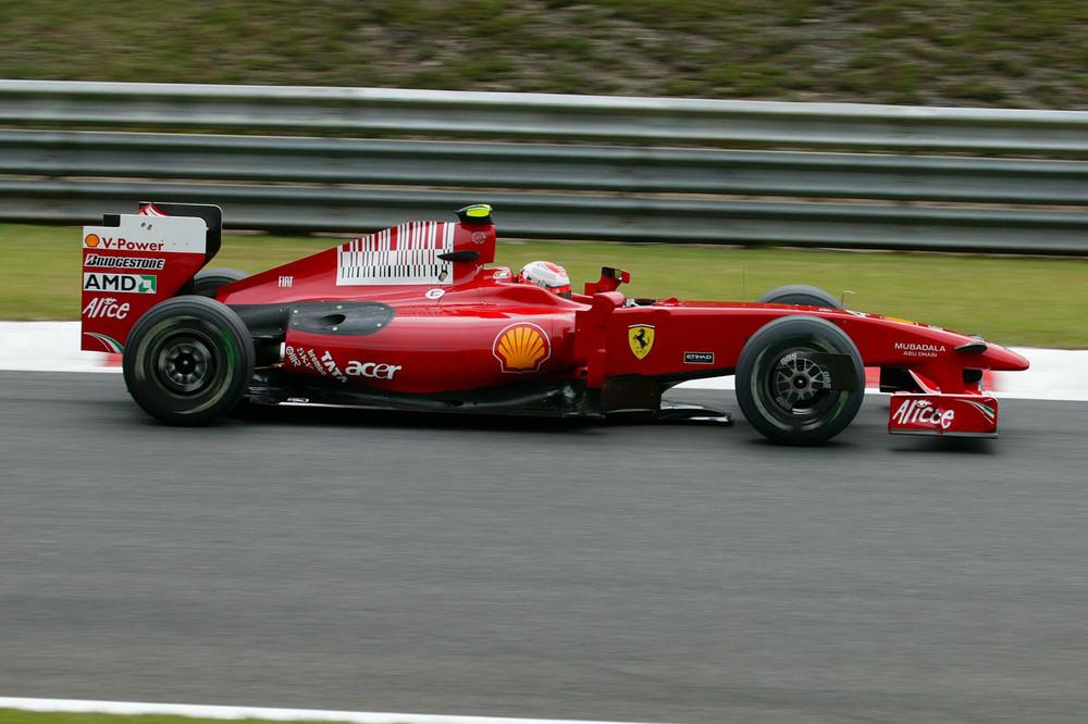 Kimi gewinnt in Spa 2009