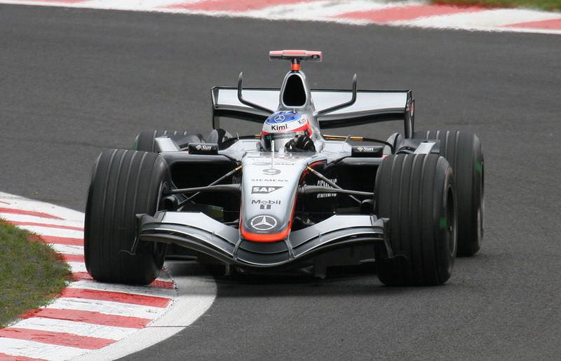 Kimi in Spa 2005