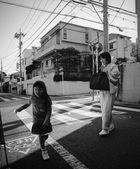 Kimono woman & child