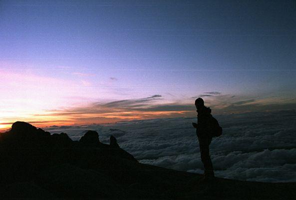 Kinabalu am Morgen
