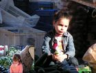 Kind auf dem Markt in Belek-Türkei