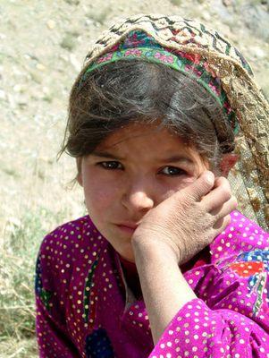 Kind aus dem Südwesten Afghanistans
