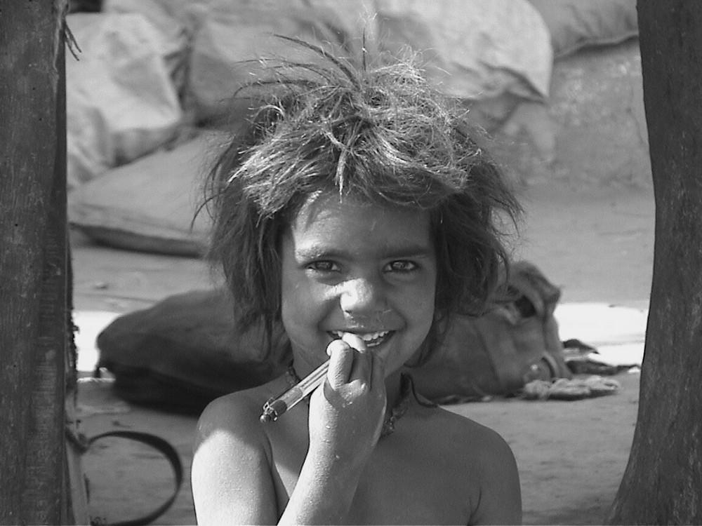 Kind in Jaisalmer