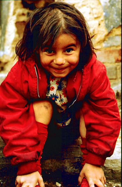 Kind in Korsika
