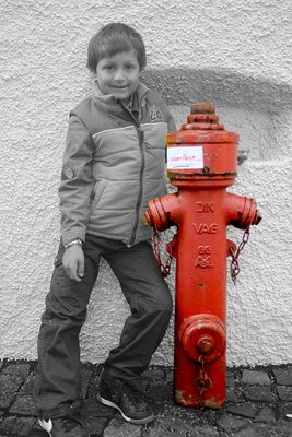 Kind oder Hydrant ?