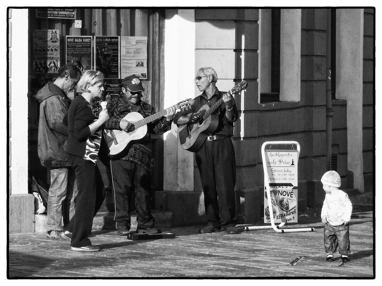 Kind und Musikanten