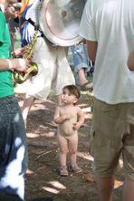 KIND und SAX im Park -VOLXTANZ 2010