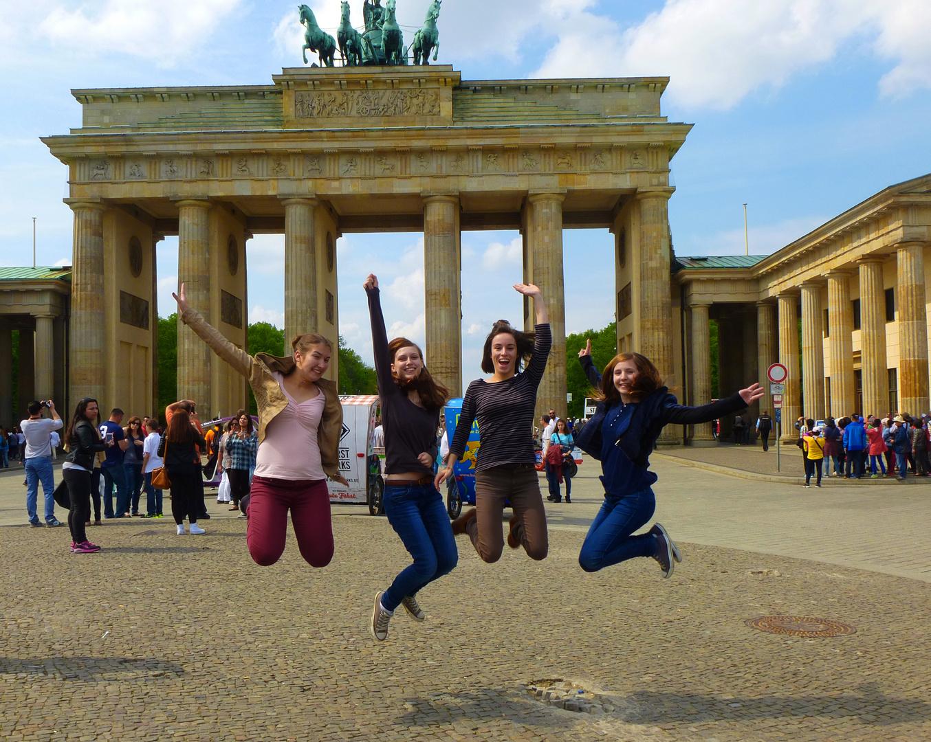 Kinder, ach wie is det fein, wieda in Berlin zu sein ...
