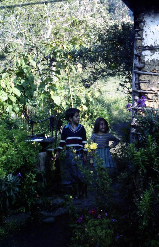 Kinder am Lande