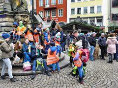 Kinder auf dem Kölner Altermarkt