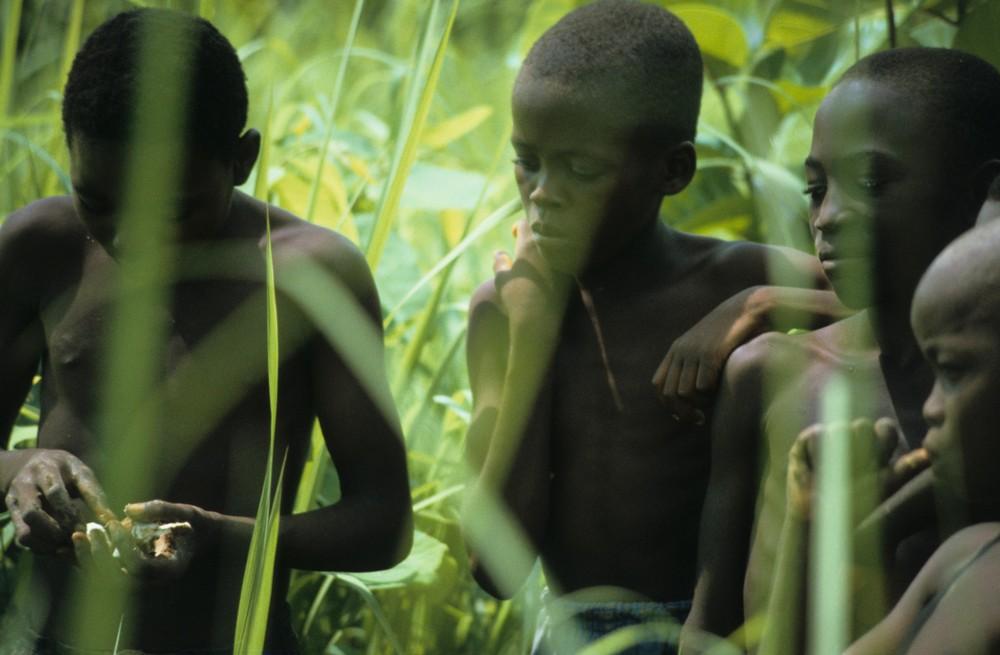 Kinder der Savanne