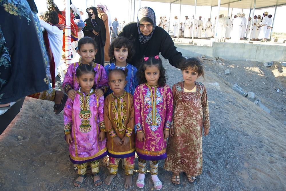 Kinder des Beduinenfestes