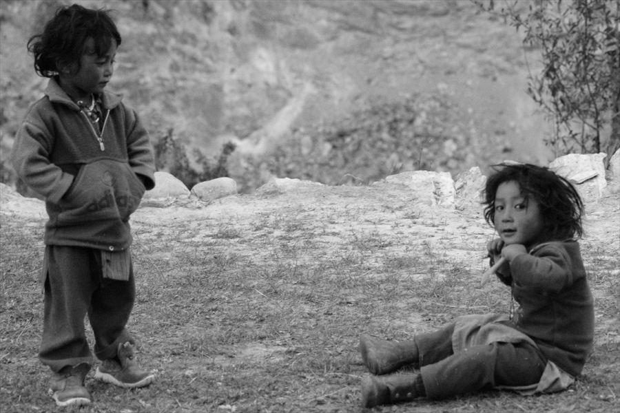 Kinder des Himalaya