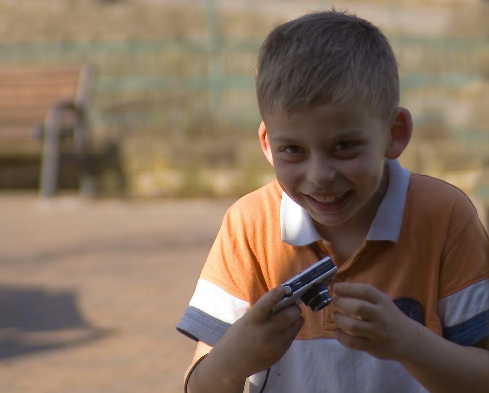 Kinder - Fotografennachwuchs