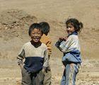 Kinder im Himalya